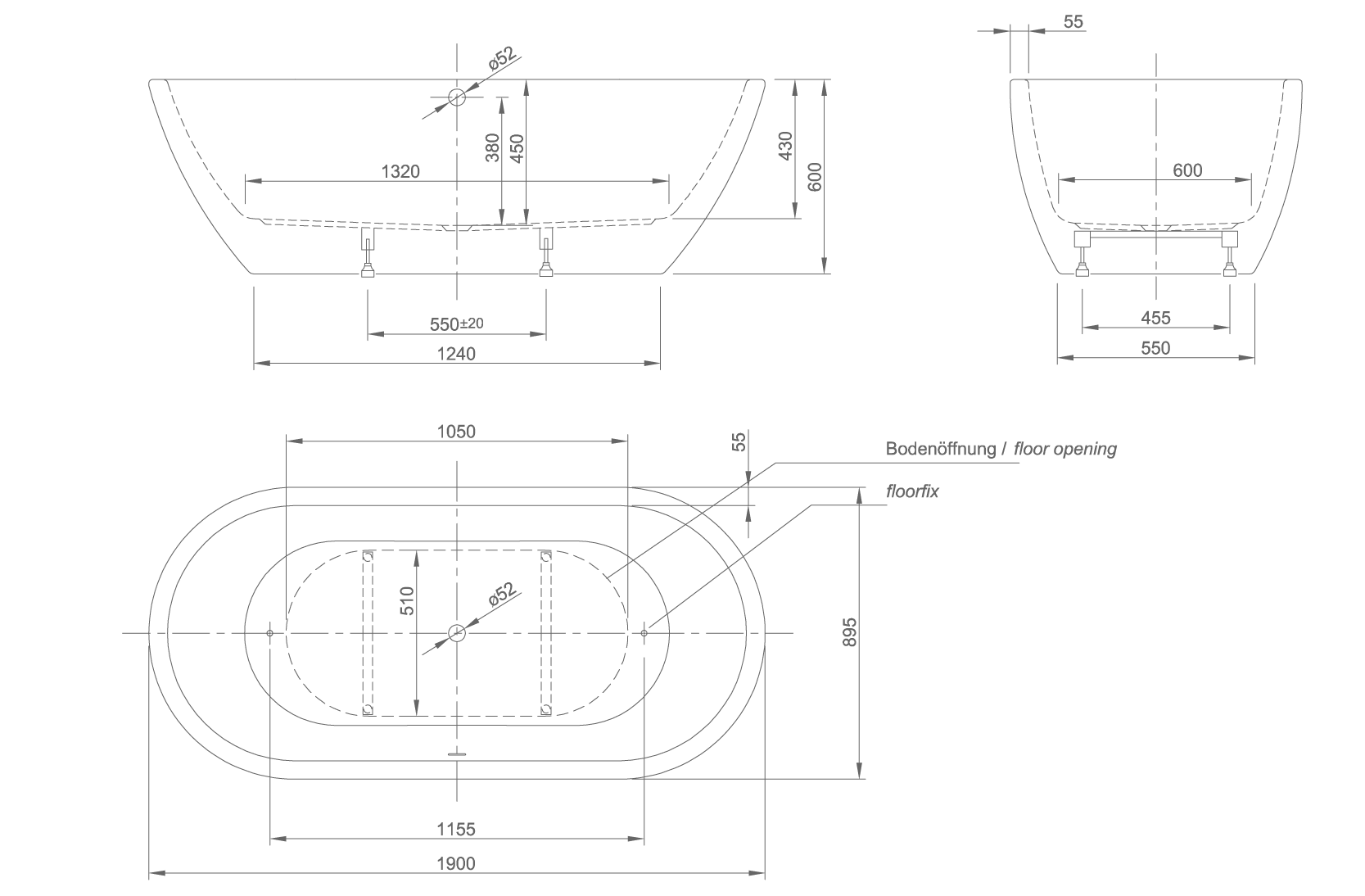 form technical drawing
