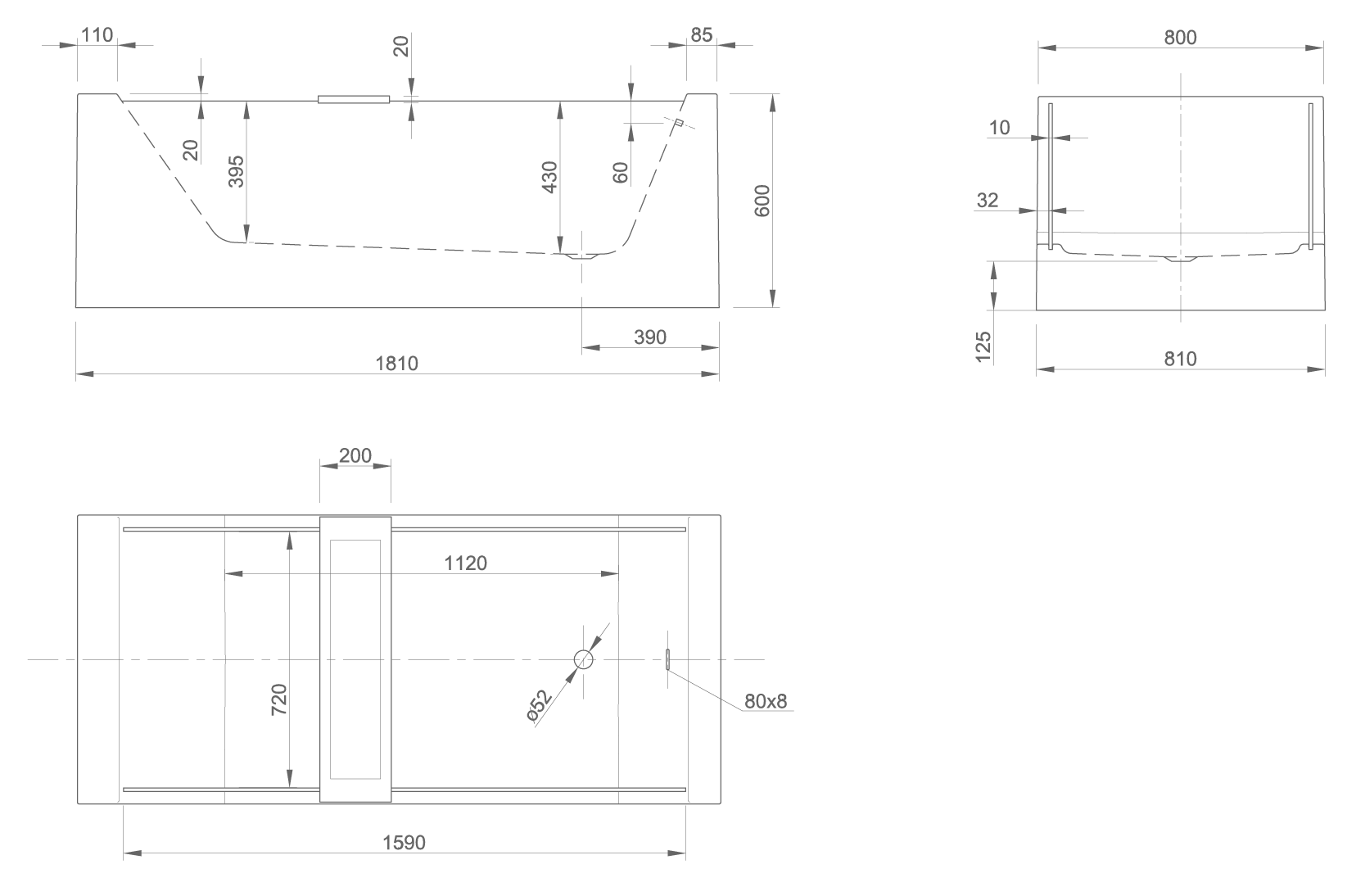 look technical drawing