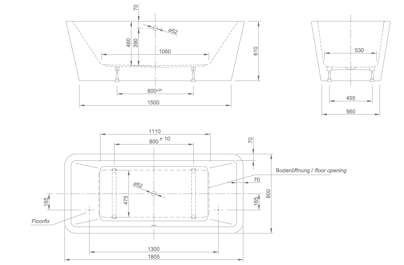 mood technical drawing