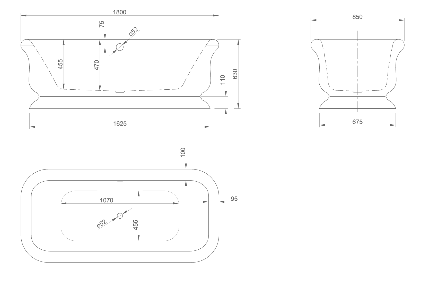 Retro technical drawing