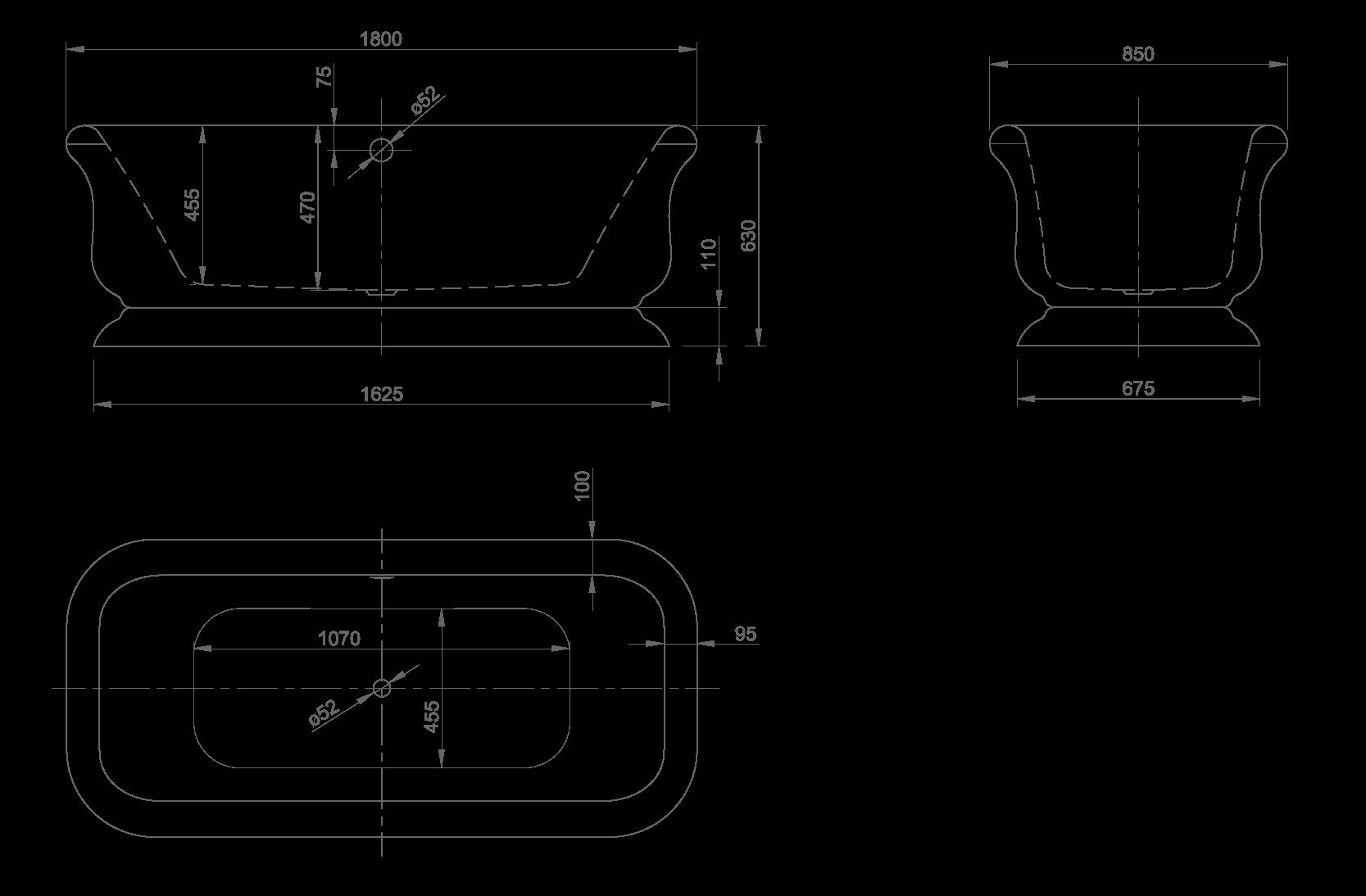 Retro technische Zeichnung
