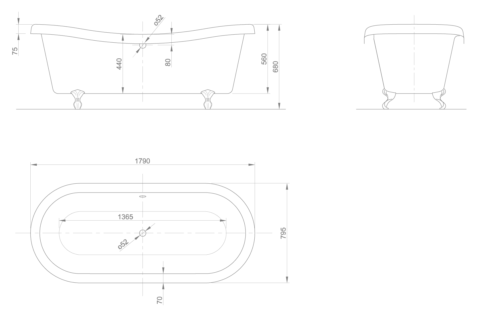 Chateau technical drawing