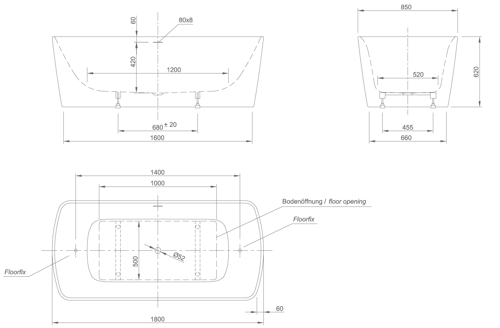 Cosy technical drawing