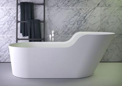 Glow симметричная отдельностоящая ванна