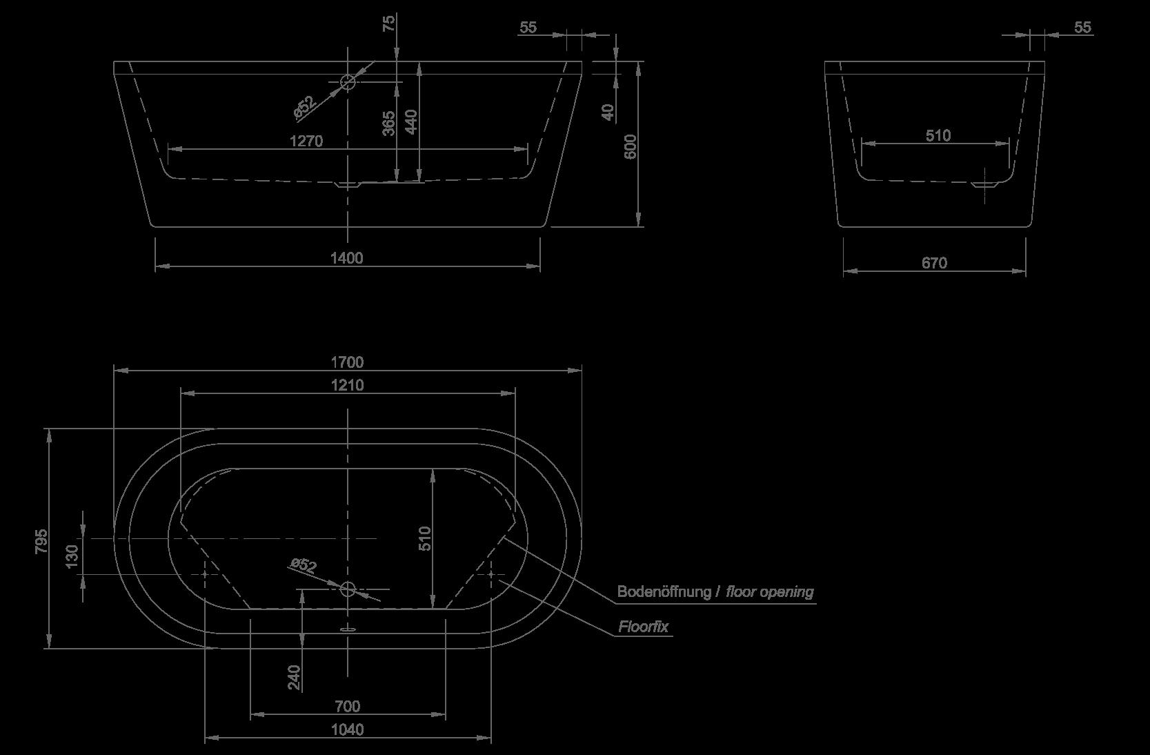 neo technische Zeichnung