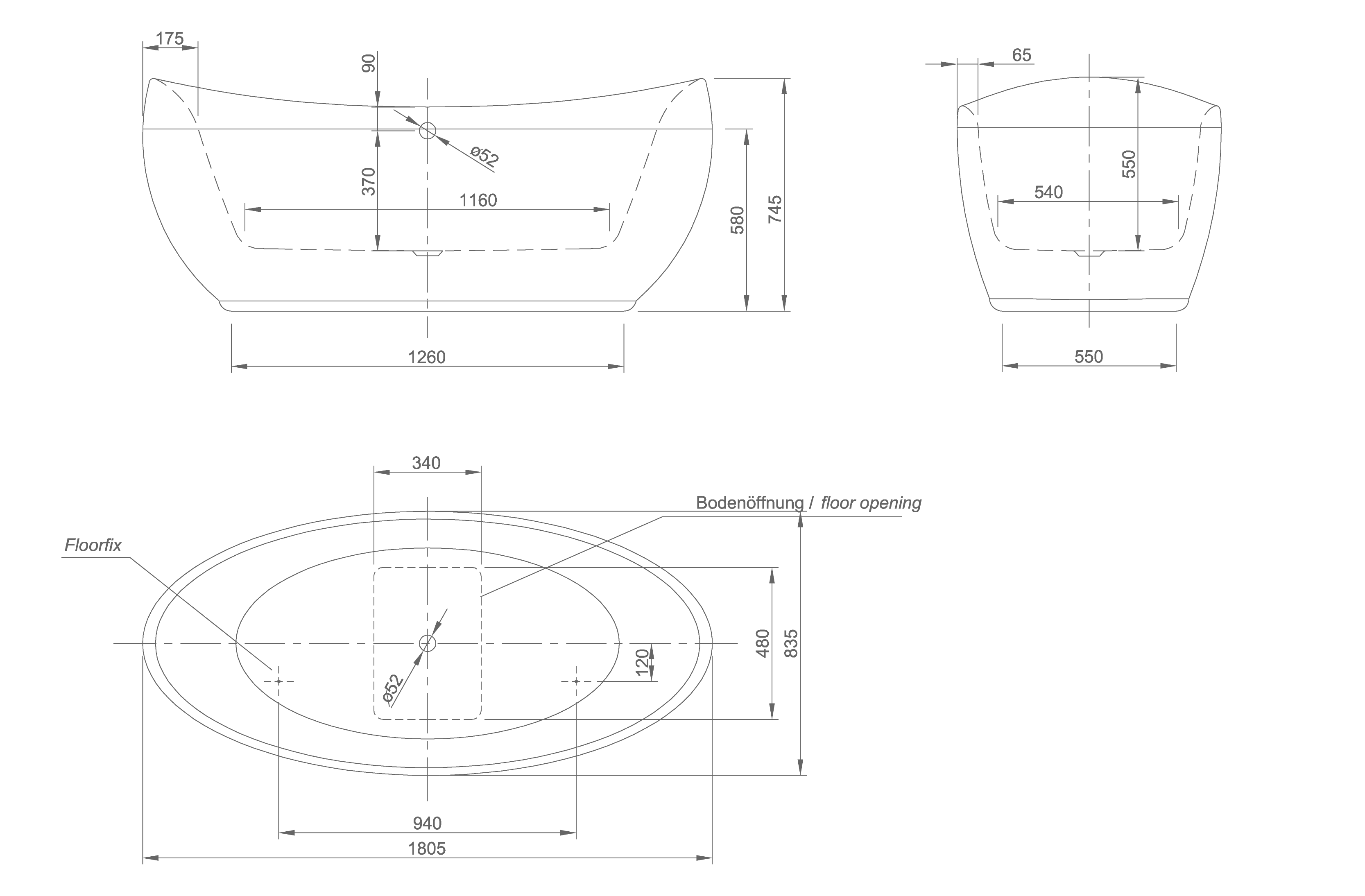 Venice technical drawing