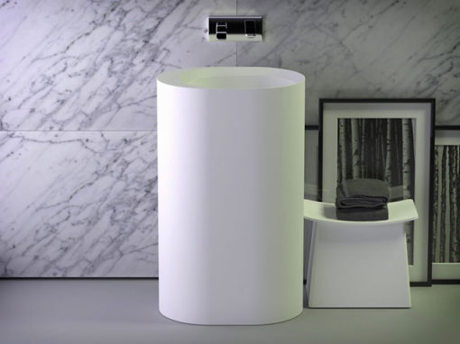 Glow freestanding washbasin