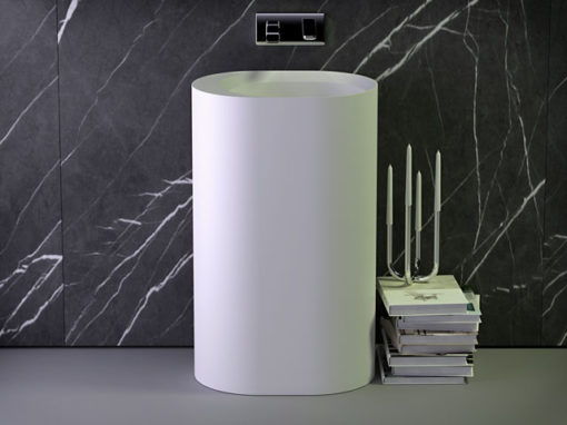 Pearl freestanding washbasin