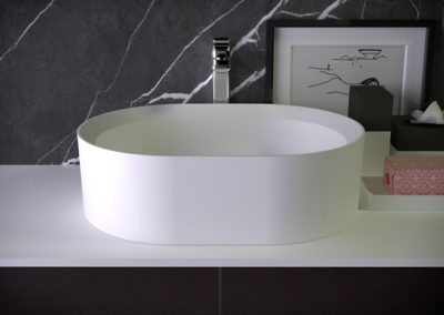 Pearl countertop washbasin