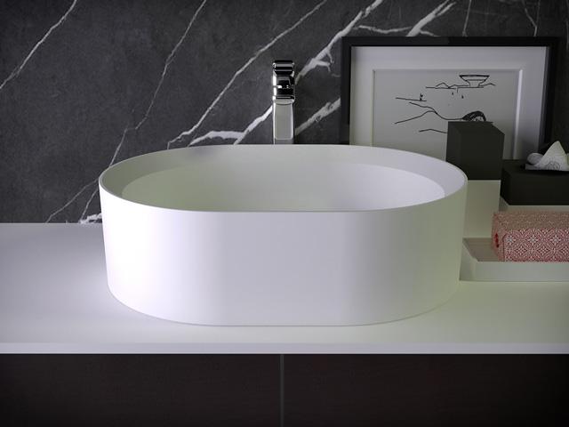 Pearl раковина на туалетном столике