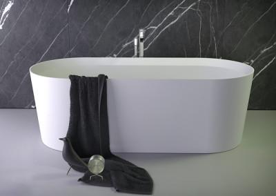 Pearl овальная отдельностоящая ванна