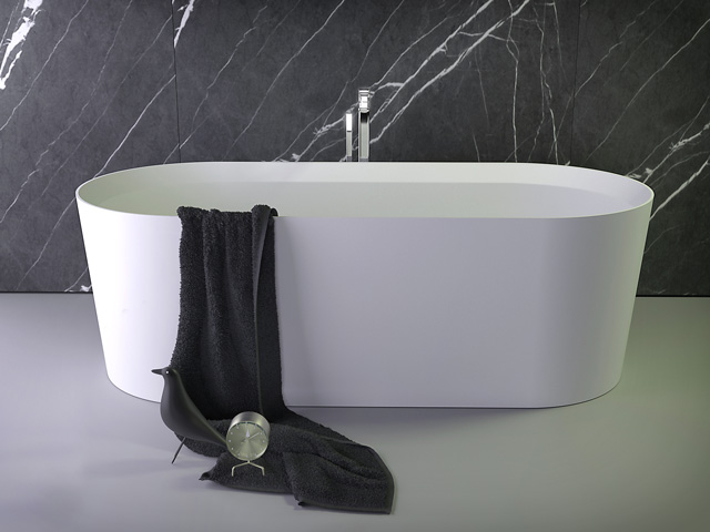 Pearl low bath