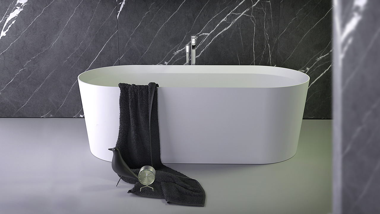 Pearl low bath - KniefCo
