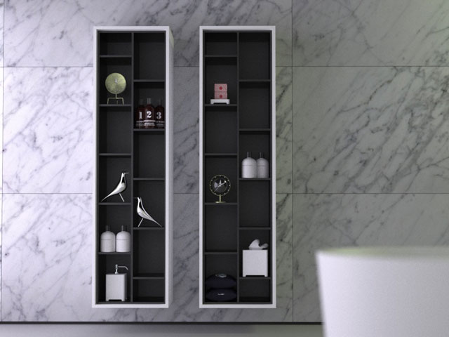 armoire 'Boxes' vertical