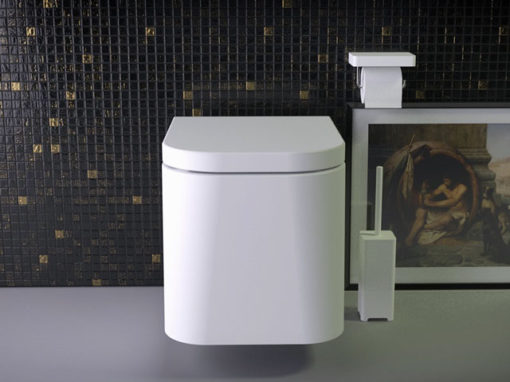 Feel rimless wallmounted WC