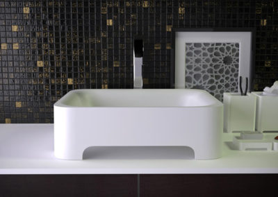 Feel countertop washbasin