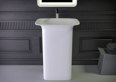 Glam freestanding washbasin