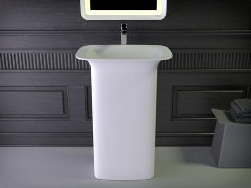 Glam freestanding washbasin