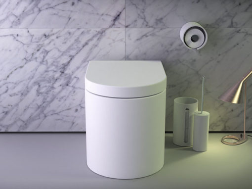 Glow Rimless floorstanding WC