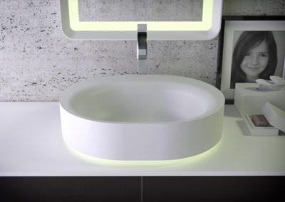 Moon раковина на туалетном столике