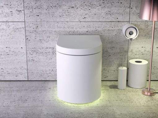 Moon floorstanding rimless WC
