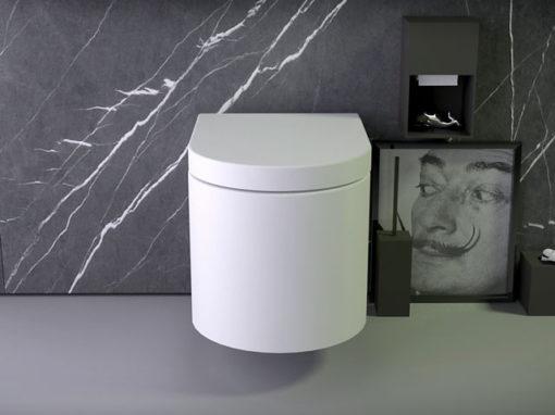 Pearl WC wandmontiert Rimless
