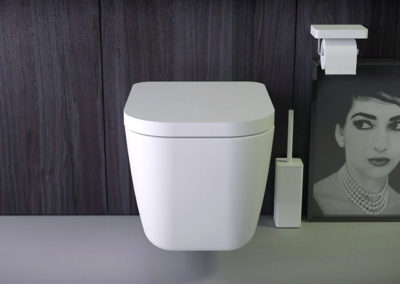 Pride rimless wallhung WC