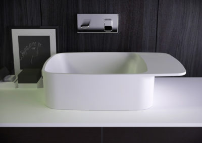 Pride countertop washbasin