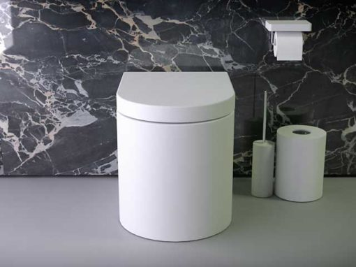 Prime rimless floorstanding WC