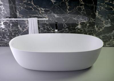Prime овальная отдельностоящая ванна