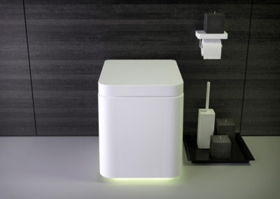 Shine floor-mounted wc