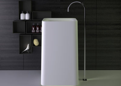 Shine freestanding washbasin