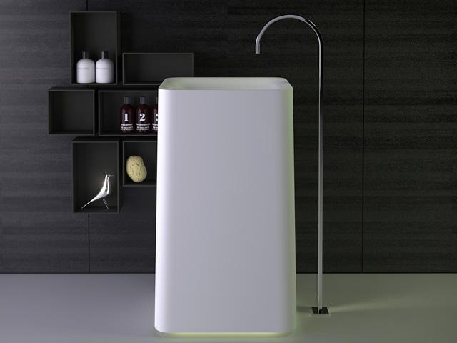 Shine lavabo colonne