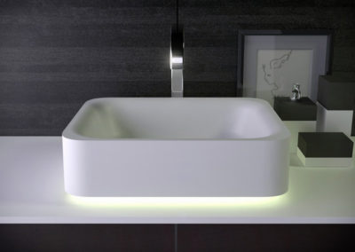 Shine countertop washbasin