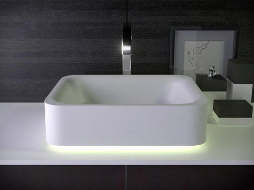 Shine раковина на туалетном столике