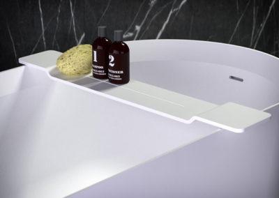 боковой ящик для ванны