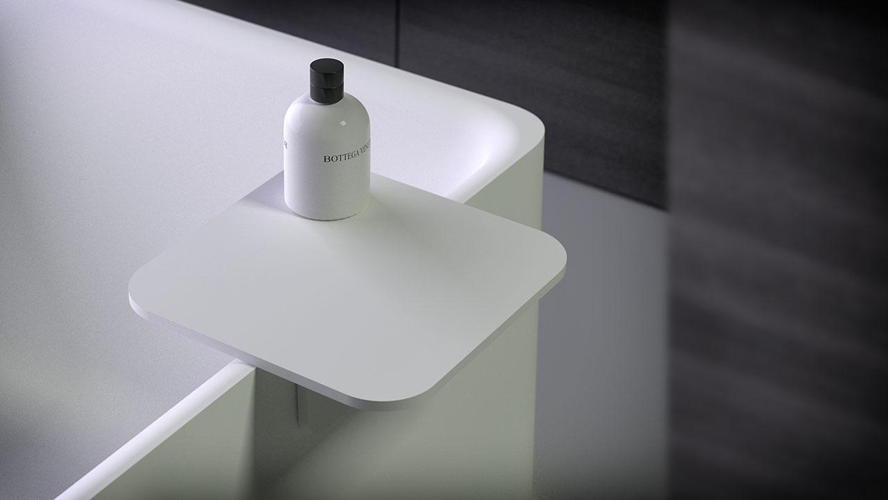 Bath Side Table Kniefco