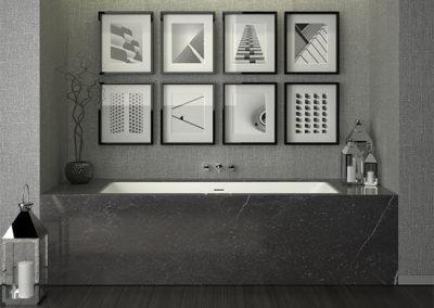 SHAPE 80/190 встроенная ванна