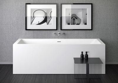 SHAPE 80/180 настенная ванна