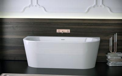 new acrylic bathtub WALL XS