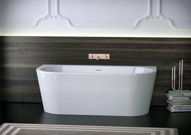 New Acrylic Bathtub WALL XS   KniefCo
